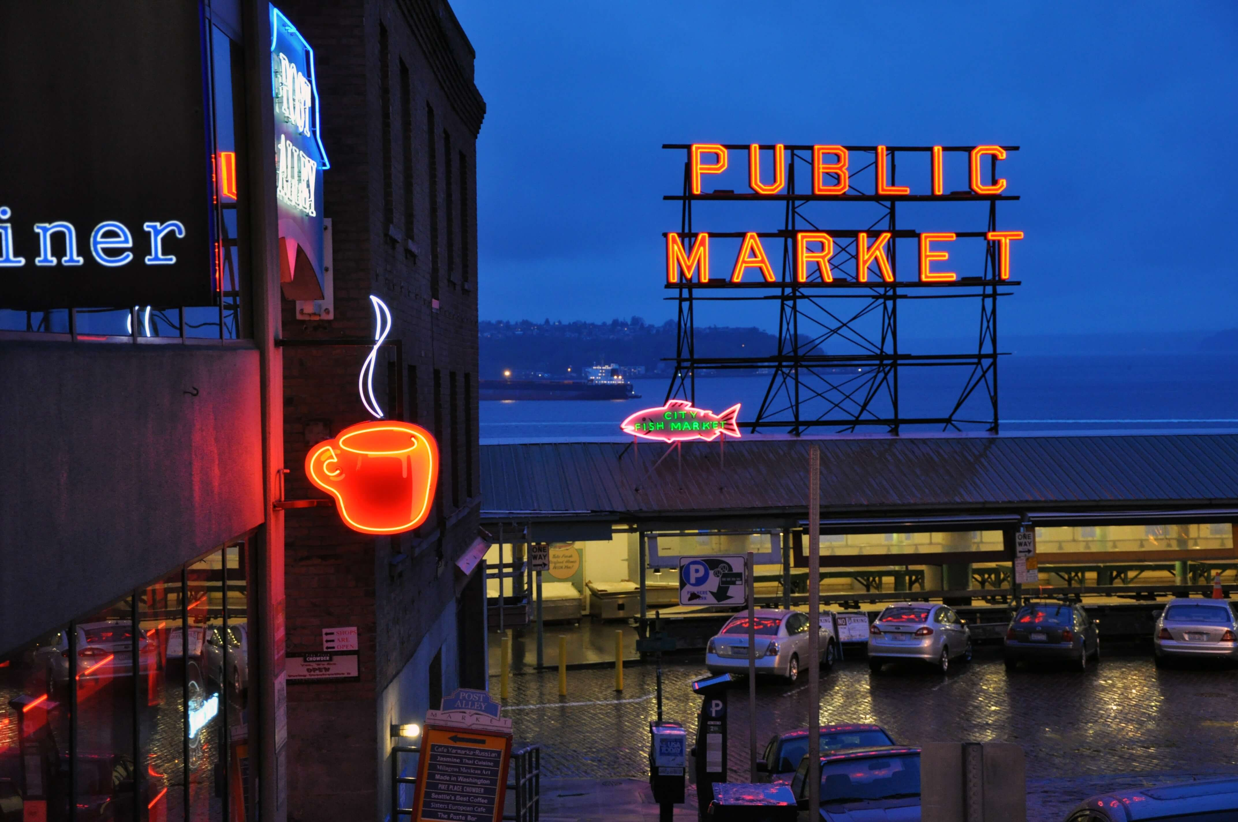 PIke's Market in Seattle