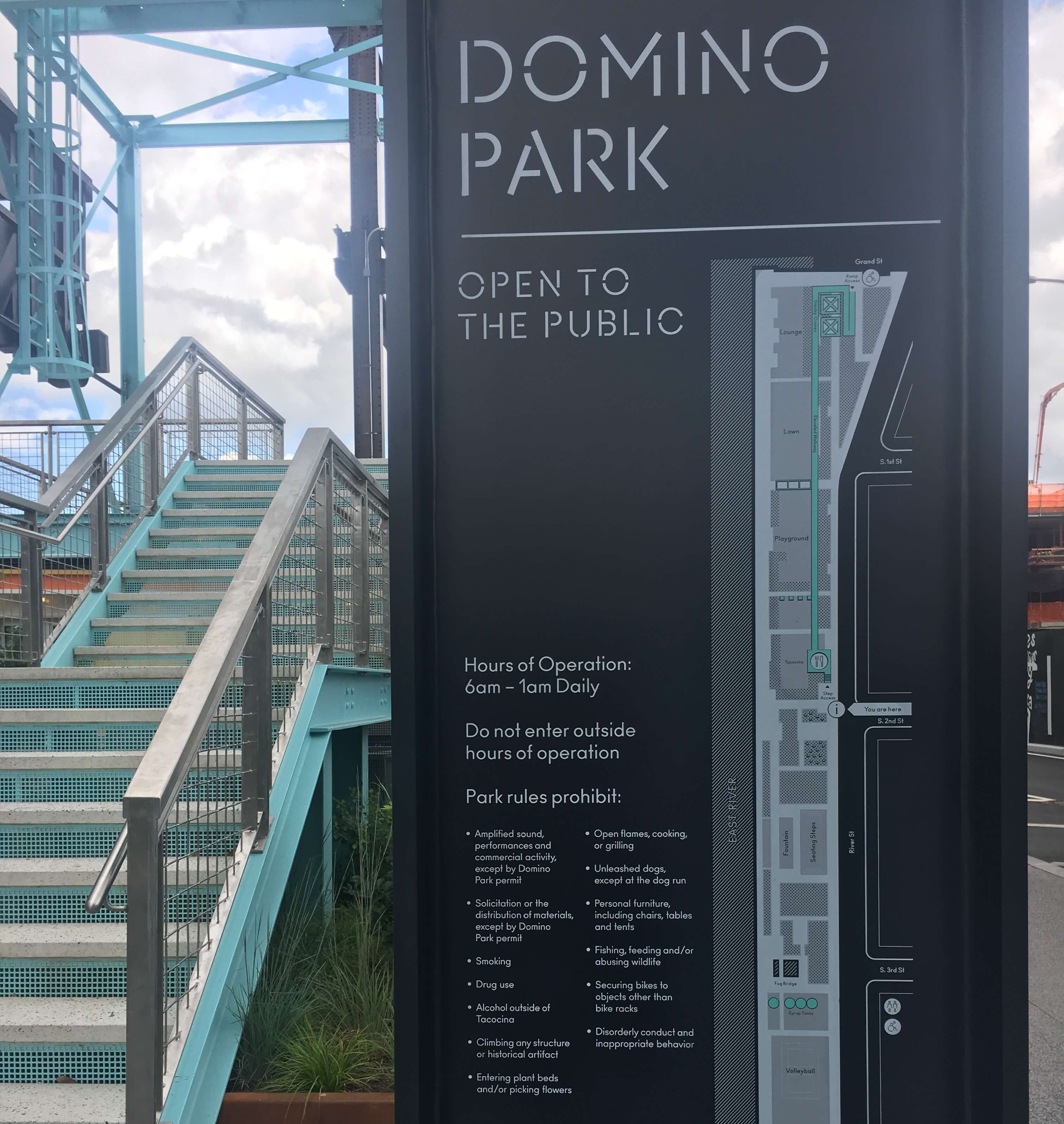 Domino Park Map