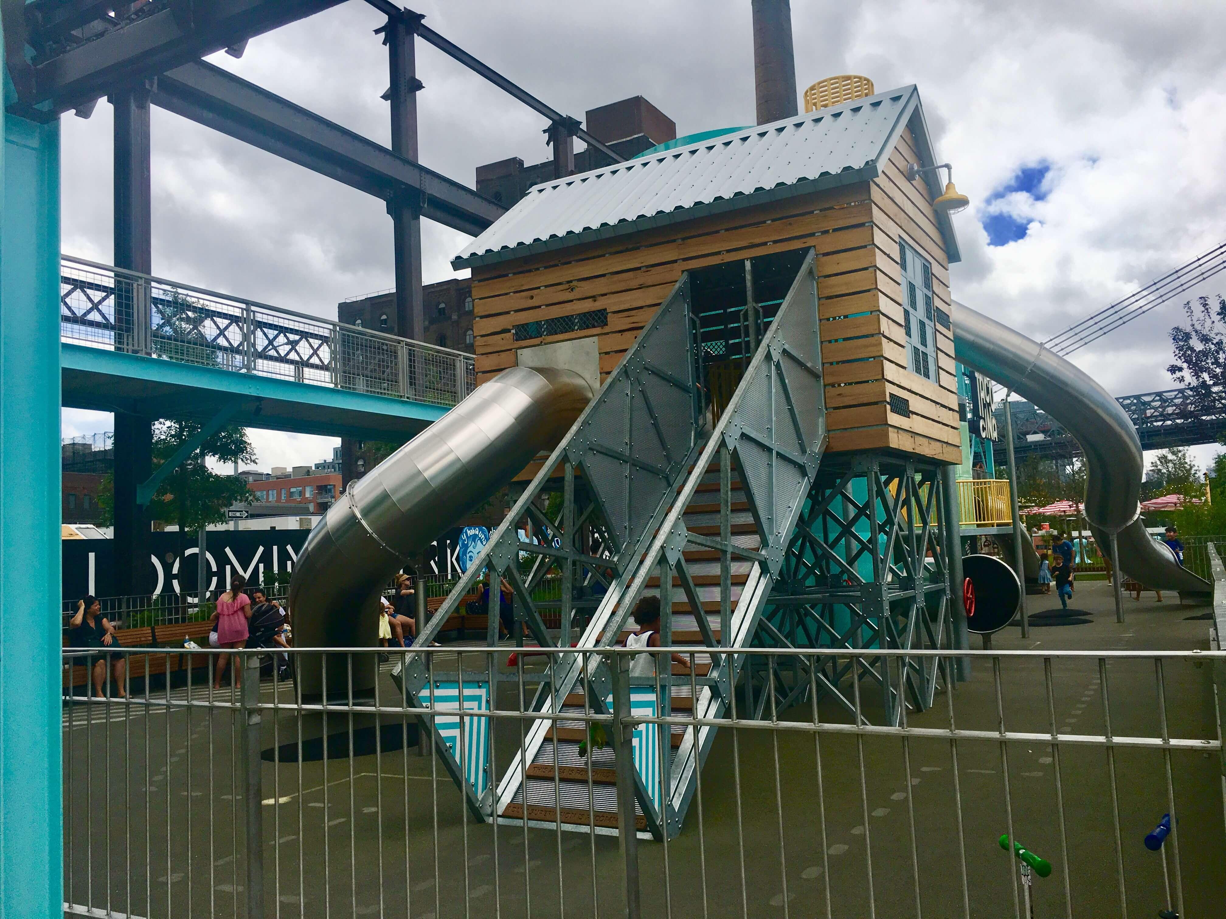 Domino Park playground