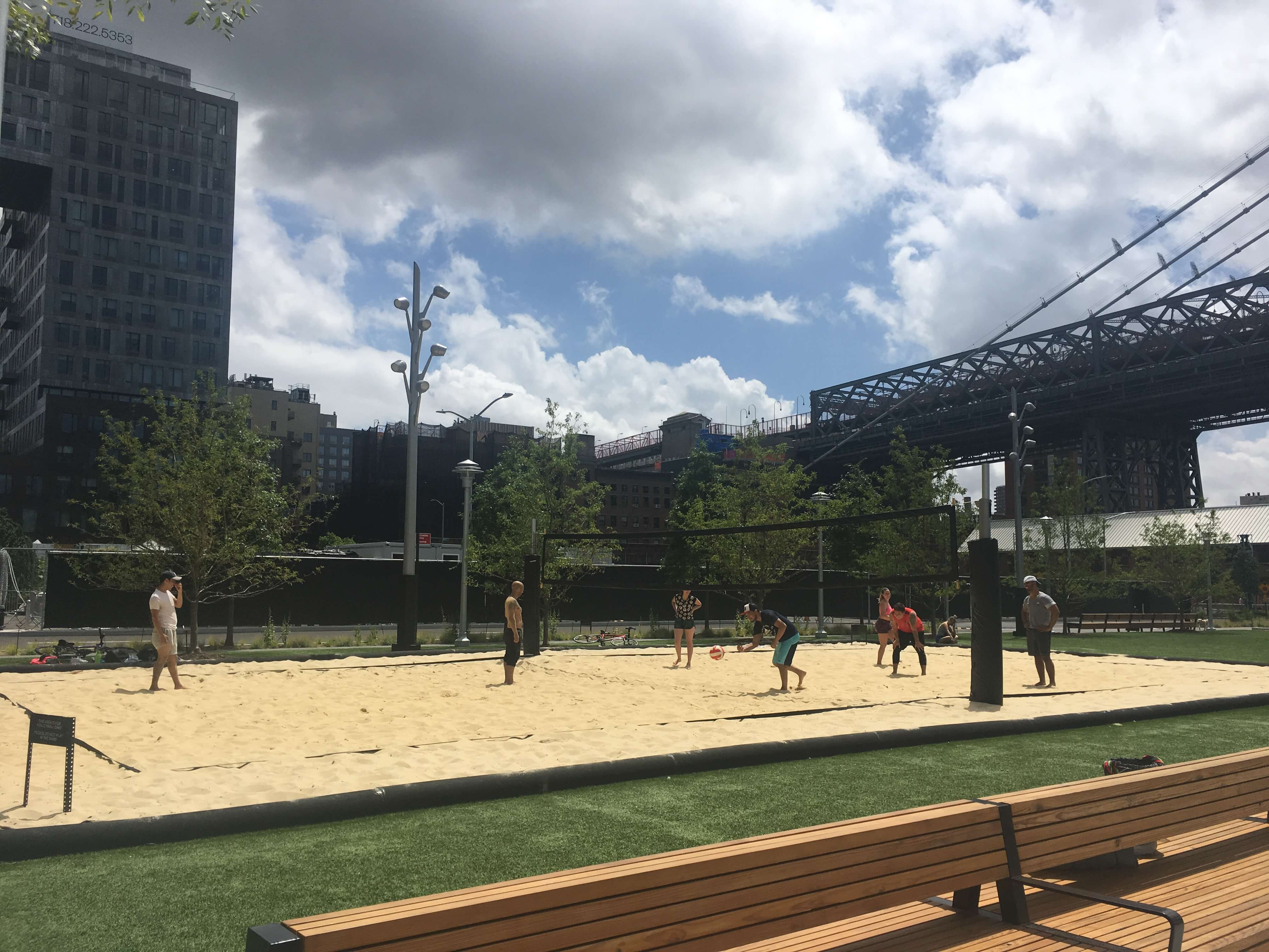 Domino Park Volleyball
