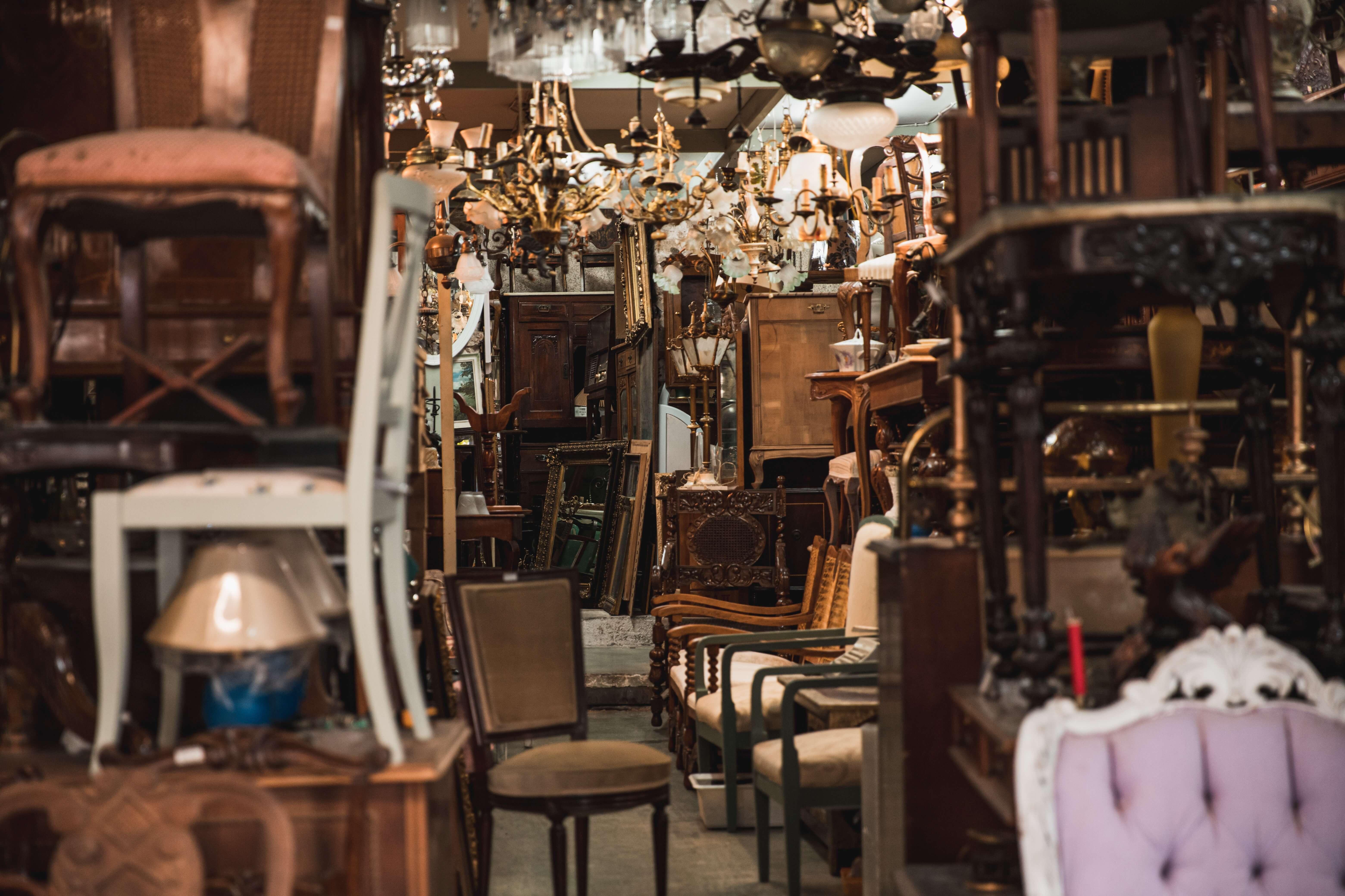 thrift-store furniture